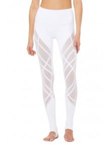 HIGH-WAIST WRAPPED STIRRUP LEGGING
